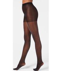 dkny lurex-metallic tights