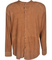 dsquared2 round collar shirt
