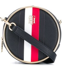 tommy hilfiger statement circle crossbody bag - blue
