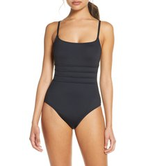 women's la blanca strappy mio one-piece swimsuit