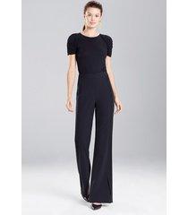 fuji bodysuit, women's, black, size s, josie natori