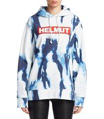 bleached terry hoodie