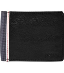 fossil men's elgin flip id leather wallet