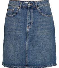 katie skirt kort kjol blå lovechild 1979
