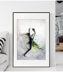 obraz 50 x 70 cm wykonany ręcznie, abstrakcja