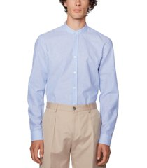 boss men's jorris slim-fit evening shirt