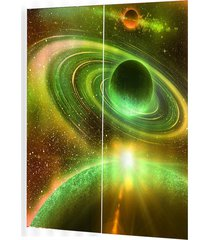 galaxy universo cortinas opacas para salón cama habitación decoración