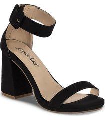sandalias tacón alto celia negro para mujer croydon