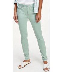 jeans skinny menta tommy hilfiger