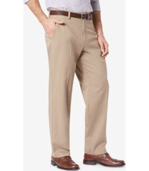 dockers relaxed fit easy pleated khaki pants
