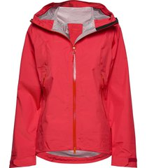 letto lady jkt outerwear sport jackets röd bergans