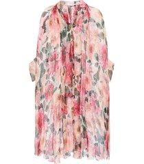 floral-bedrukte jurk