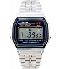 reloj a-159wa-n1 casio plateado