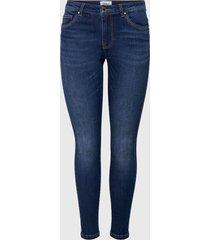 jeans only azul - calce ajustado