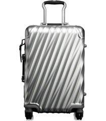 mala de mão internacional tumi - prata
