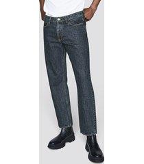 straight jeans - blå