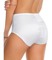 panty clásico de control suave con efecto levantacolas - panty blanco leonisa