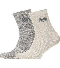 all over sparkle socks lingerie hosiery socks grå superdry