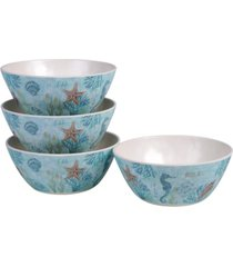 certified international beachcomber 4-pc. all purpose bowls
