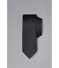 gravata jacquard seda xadrez oficina - masculino