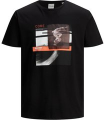 jack & jones t-shirt zwart plus size