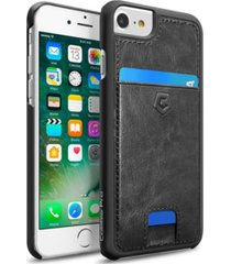 cobble pro leather case with id credit card slot for apple iphone 6, 6s, 7, 8