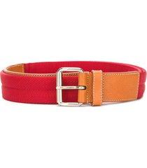 a.n.g.e.l.o. vintage cult logo printed belt - red