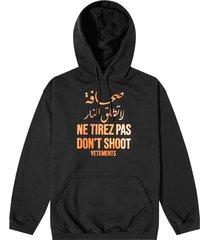 don't shoot hoodie