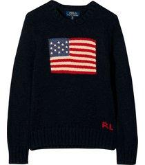 ralph lauren blue sweater