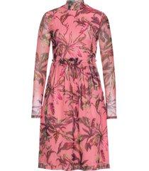 abito a maniche lunghe (rosa) - bodyflirt boutique