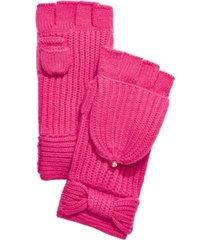 kate spade new york bow pop top mittens