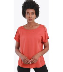 blusa boton terracota night concept