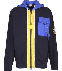 moncler genius zipped sweatshirt