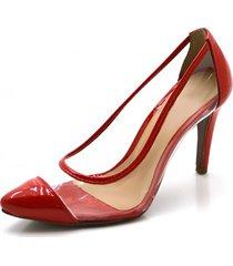 9412449af5 Scarpins - Maior - Vermelha - 3 produtos com até 22.0% OFF - Jak Jil