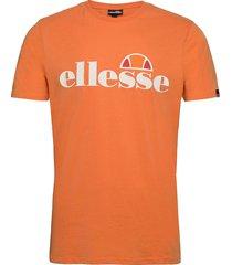 el sl pradotee t-shirts short-sleeved orange ellesse
