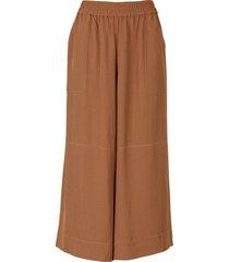 wide leg culottes trousers