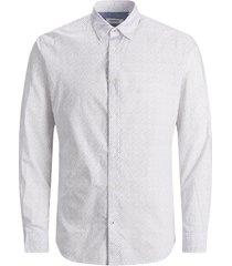 jack & jones overhemd print poplin slim fit