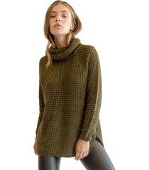 sweater lidia verde militar racaventura