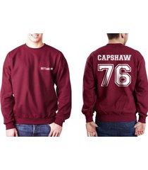 capshaw 76 jessica capshaw grey's anatomy unisex crewneck sweatshirt