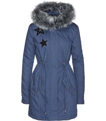 parka con ecopelliccia (blu) - bpc selection