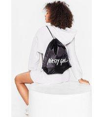 womens on brand sports backpack - black