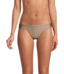 basic ruched-back bikini bottom