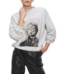 women's anine bing x terry o'neill graphic sweatshirt