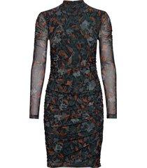 bysannie dress - kort klänning multi/mönstrad b.young