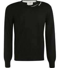 alexander mcqueen round neck sweater