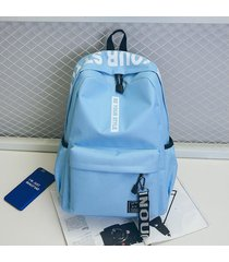 mochila para laptop mochila de viaje oxford simple mujeres hombres escuela