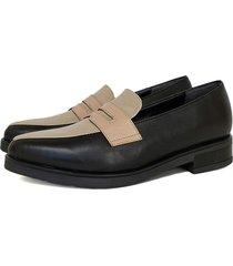 zapato negro miye collazo calidez