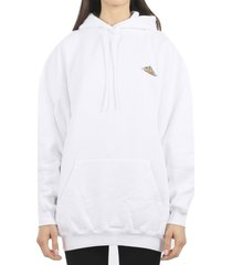 balenciaga white bonjour bal hoodie