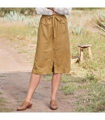 hailey cargo skirt