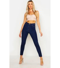 super skinny stretch jeans, indigo